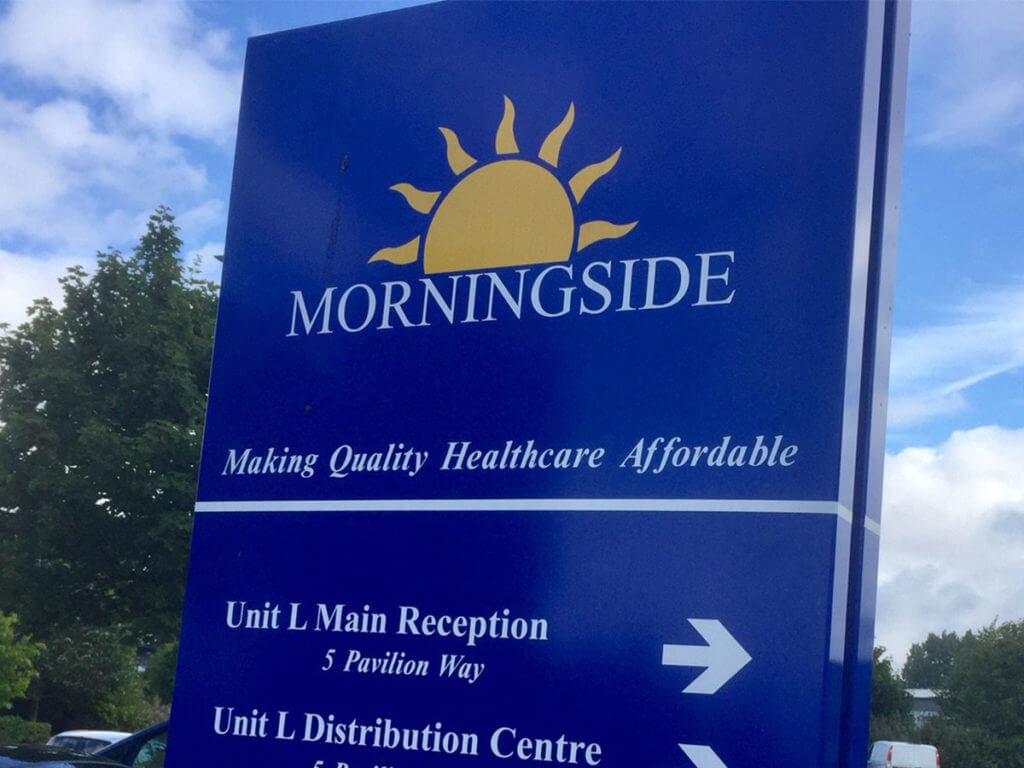 Morningside Pharmaceuticals sign
