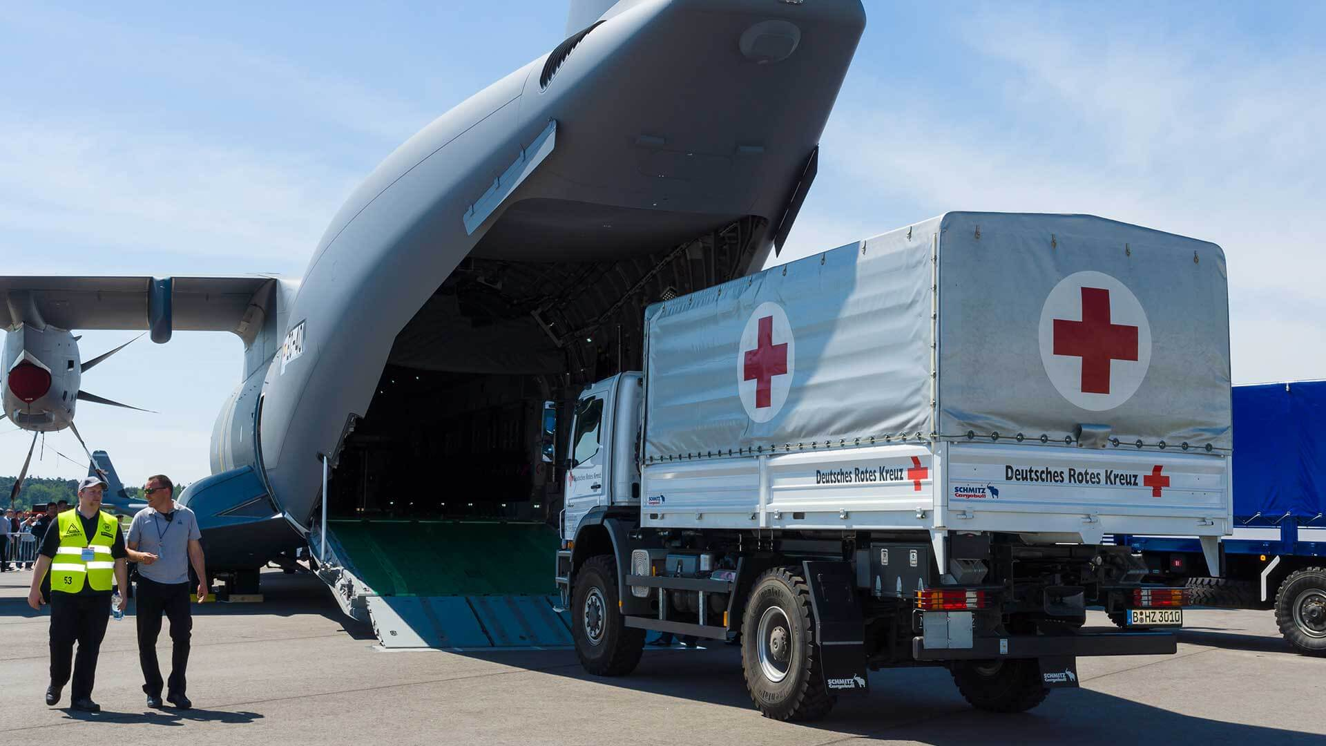 Morningside Pharmaceuticals works with global aid agencies like the Red Cross.