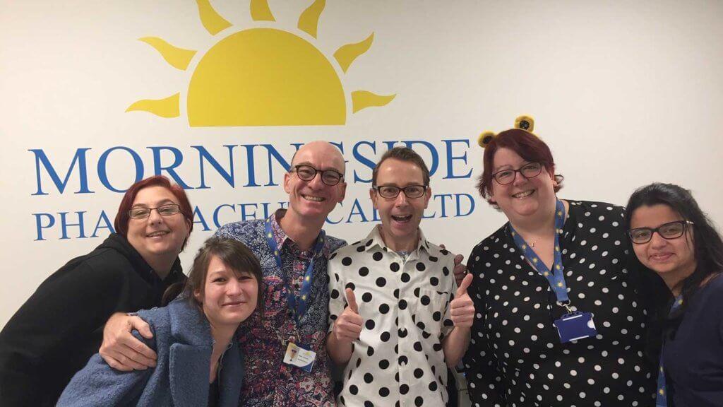 BBC Children in Need at Morningside Phaermaceuticals