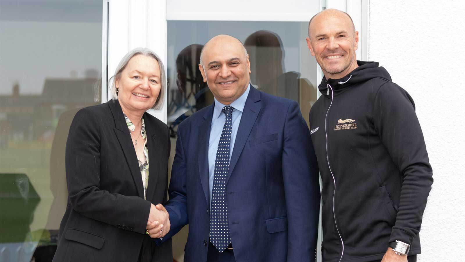 Leicestershire County Cricket Club (LCCC) partnership with Morningside Pharmaceuticals
