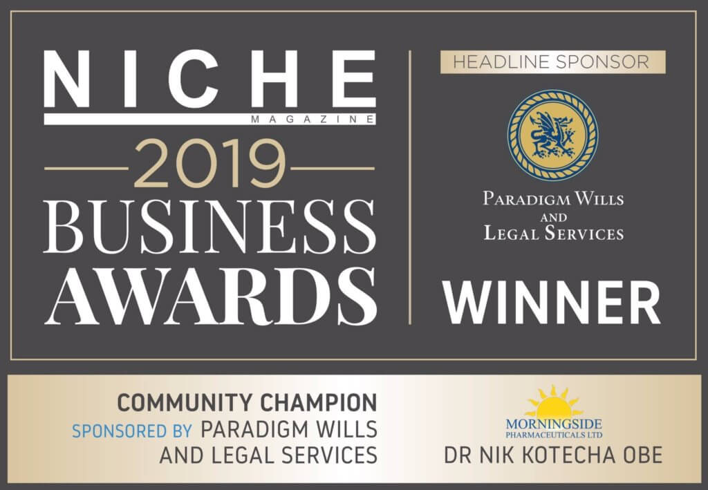 Niche Business Awards 2019 Community Champion