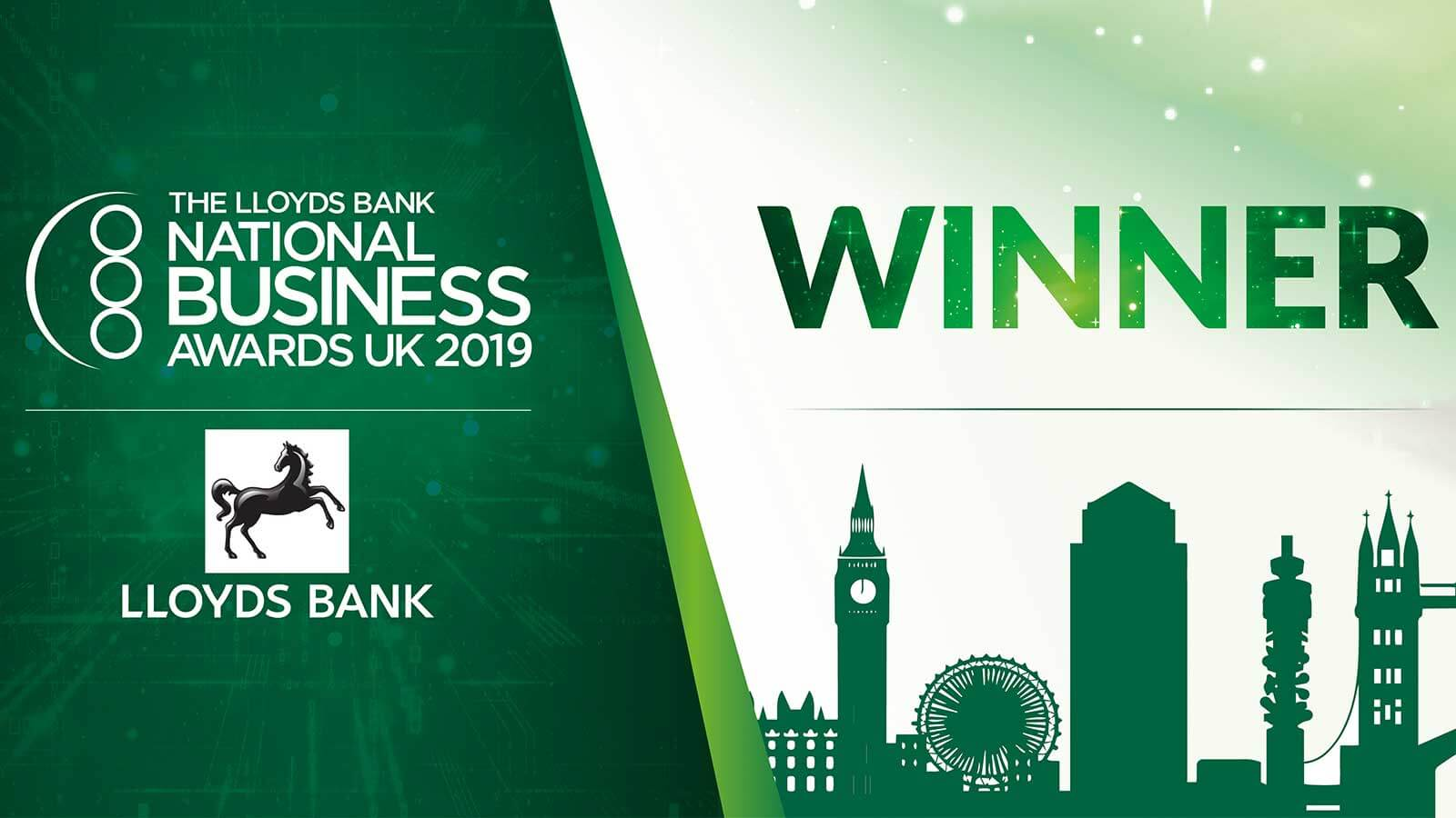 Lloyds Bank National Business Awards Winner