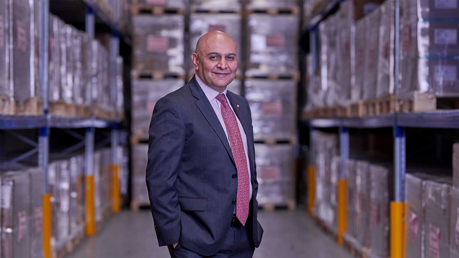 Dr Nik Kotecha OBE, Chief Executive of Morningside Pharmaceuticals Ltd
