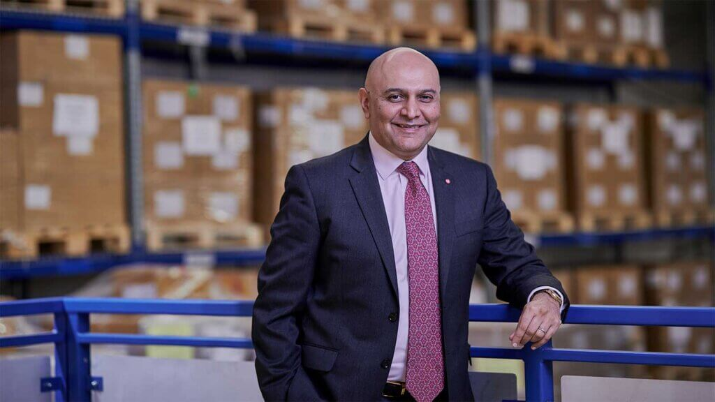 Dr Nik Kotecha OBE, Chief Executive of Morningside Pharmaceuticals
