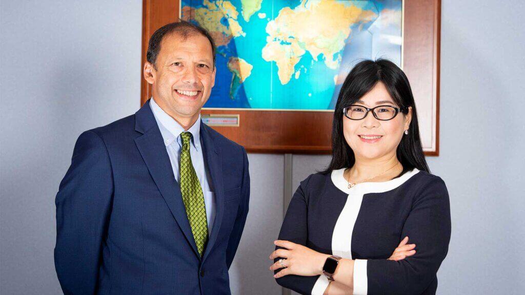 COO Monica Huang & CFO Cliff Fung