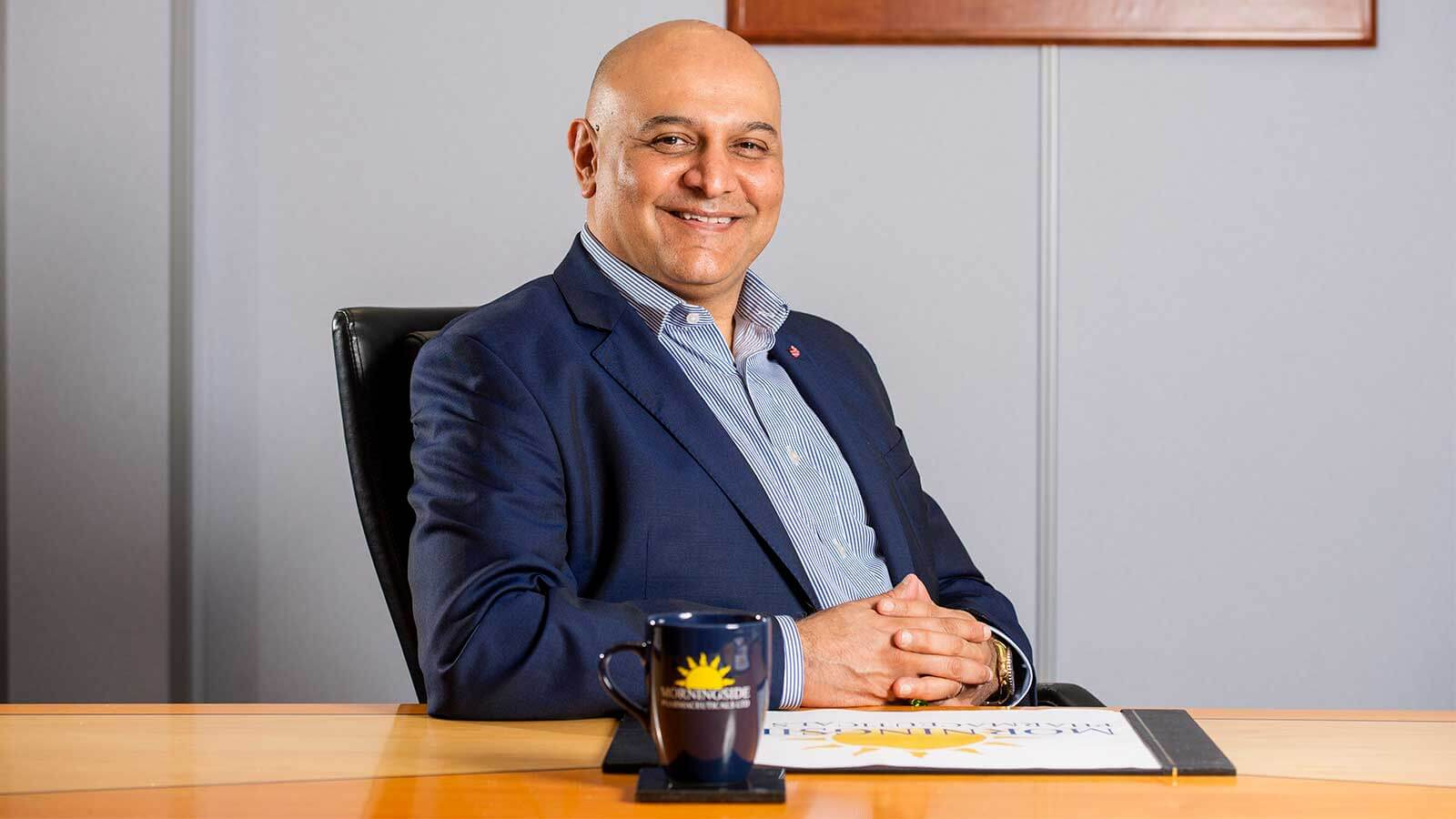 Dr Nik Kotecha OBE, Chairman of Morningside Pharmaceuticals