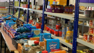 John Storer Charnwood food bank