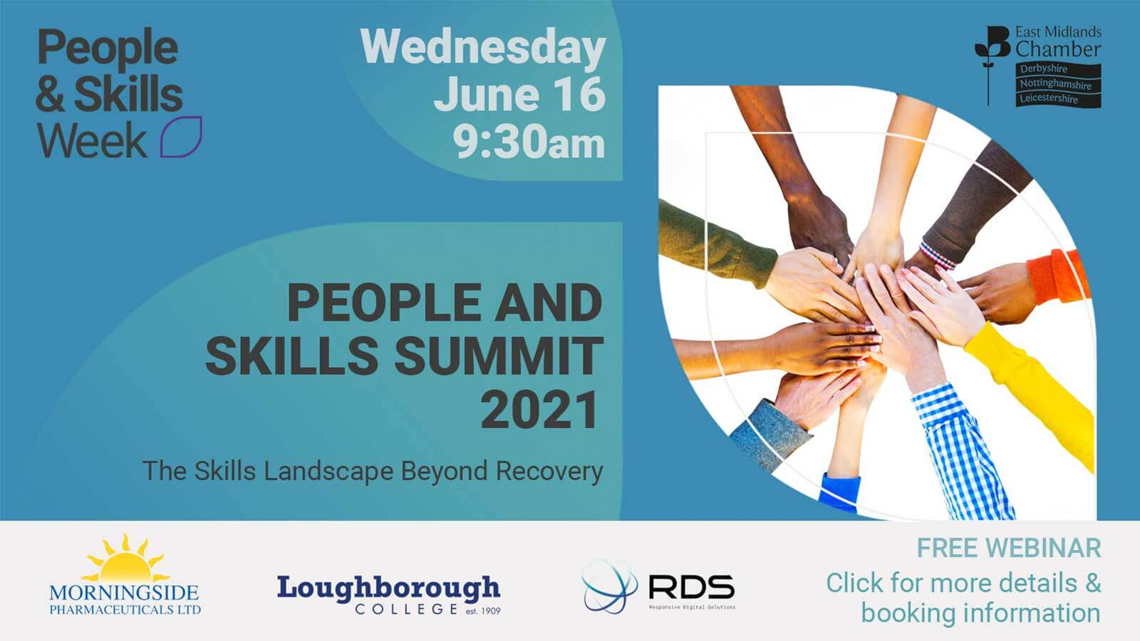 East Midlands Chamber of Commerce's People & Skills Summit 2021
