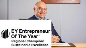 Dr Nik Kotecha OBE: EY Entrepreneur of the Year Regional Champion