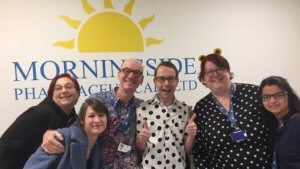BBC Children in Need at Morningside Phaermaceuticals