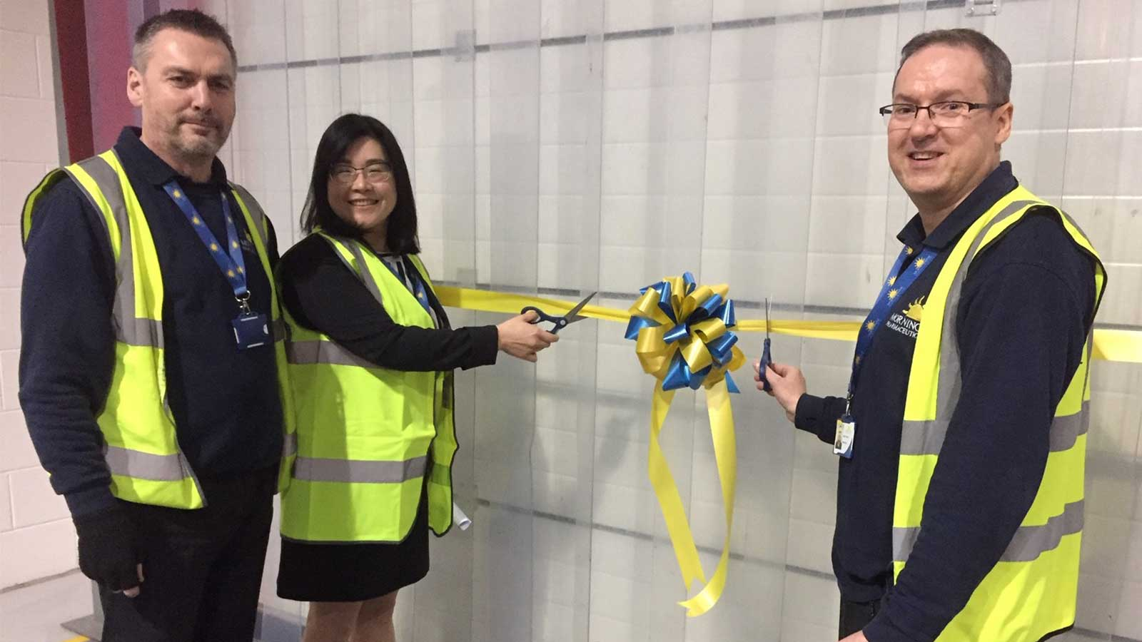 Official warehouse opening