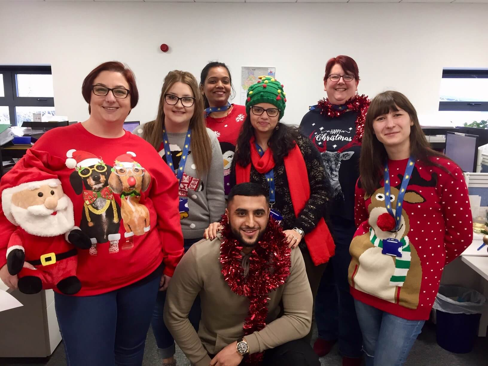Christmas Jumper Day at Morningside Pharmaceuticals